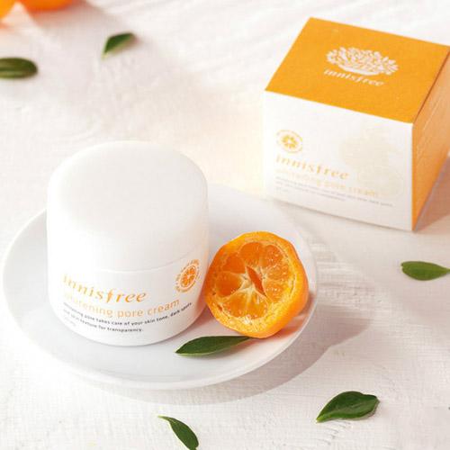 kem duong trang da Innisfree Whitening pore cream